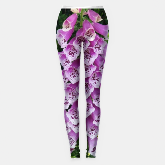 Thumbnail image of Lavender Flower Leggings, Live Heroes