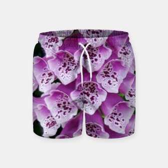 Thumbnail image of Lavender Flower Swim Shorts, Live Heroes