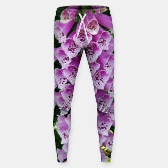 Thumbnail image of Lavender Flower Sweatpants, Live Heroes