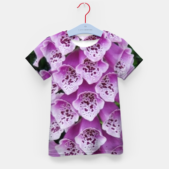 Thumbnail image of Lavender Flower Kid's t-shirt, Live Heroes