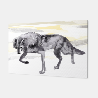 Thumbnail image of Artic Wolf #1 Canvas, Live Heroes
