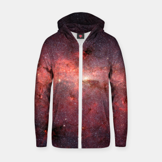 Thumbnail image of Nebula VI Zip up hoodie, Live Heroes