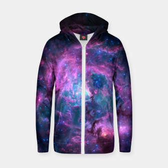 Thumbnail image of Nebula VII Zip up hoodie, Live Heroes