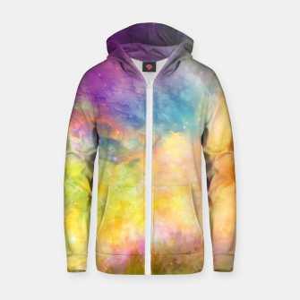 Thumbnail image of Nebula VIII Zip up hoodie, Live Heroes