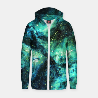 Thumbnail image of Nebula X Zip up hoodie, Live Heroes