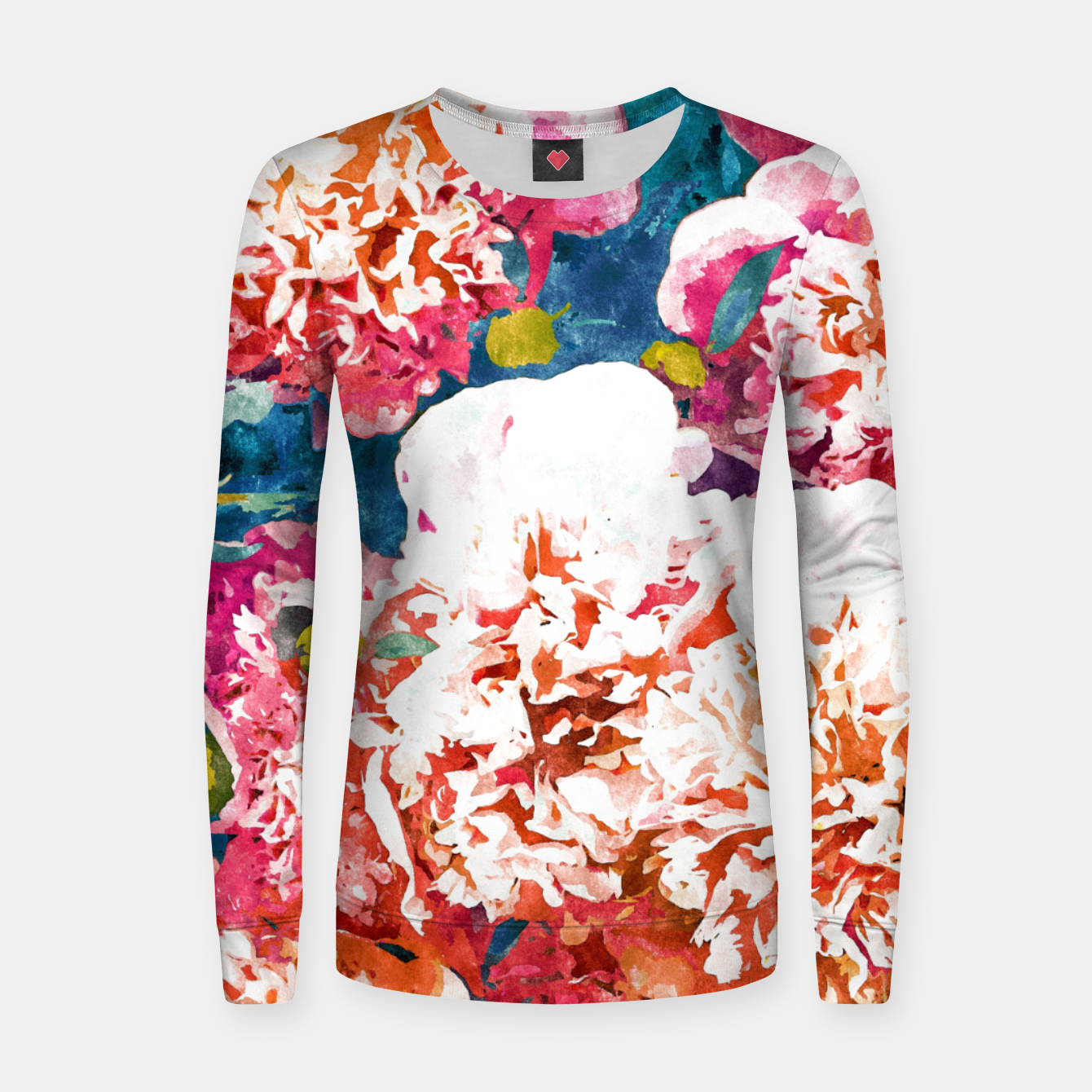 Image of Blossoming Love Women sweater - Live Heroes