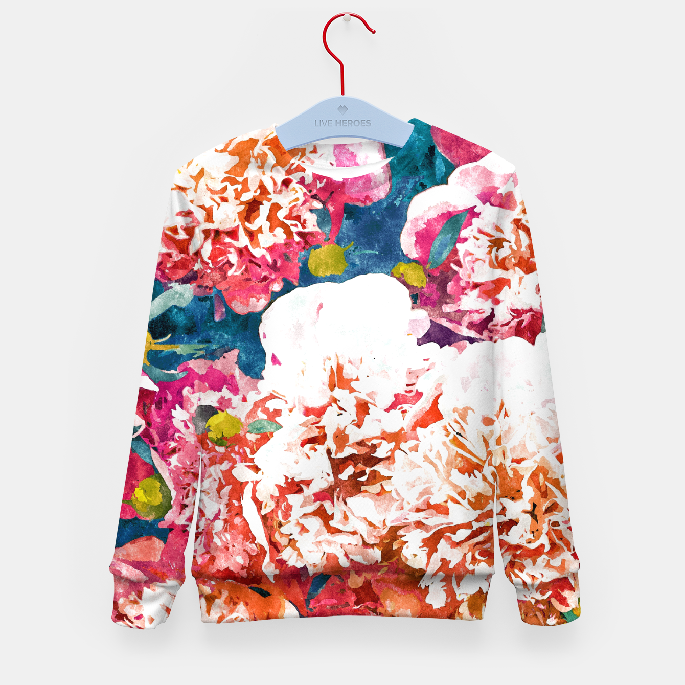Image of Blossoming Love Kid's sweater - Live Heroes