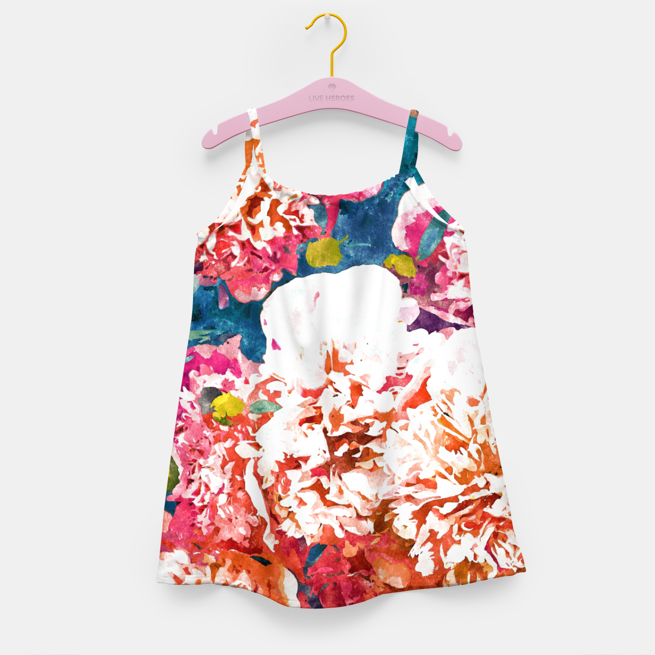 Image of Blossoming Love Girl's dress - Live Heroes
