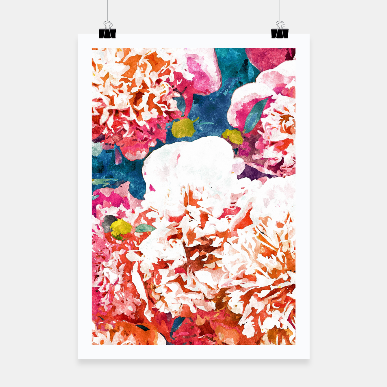 Image of Blossoming Love Poster - Live Heroes