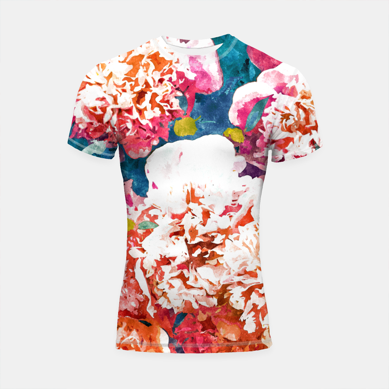 Image of Blossoming Love Shortsleeve rashguard - Live Heroes