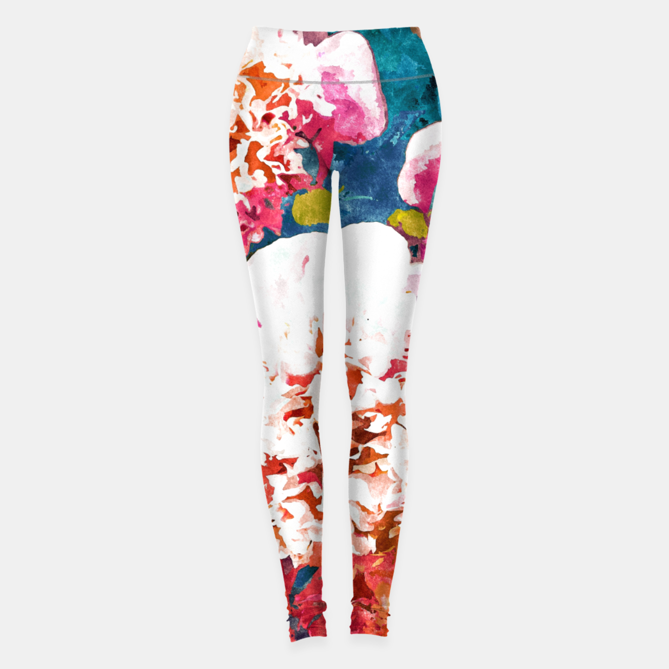 Image of Blossoming Love Leggings - Live Heroes