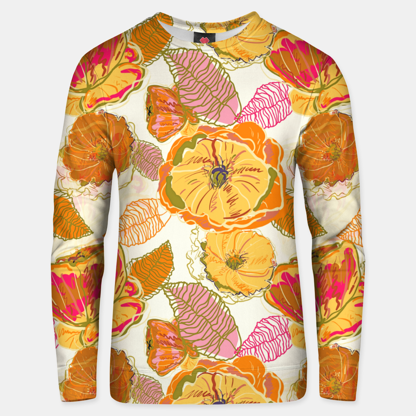 Image of Fall Floral Unisex sweater - Live Heroes
