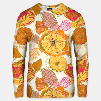 Fall Floral Unisex sweater thumbnail image