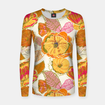 Thumbnail image of Fall Floral Women sweater, Live Heroes