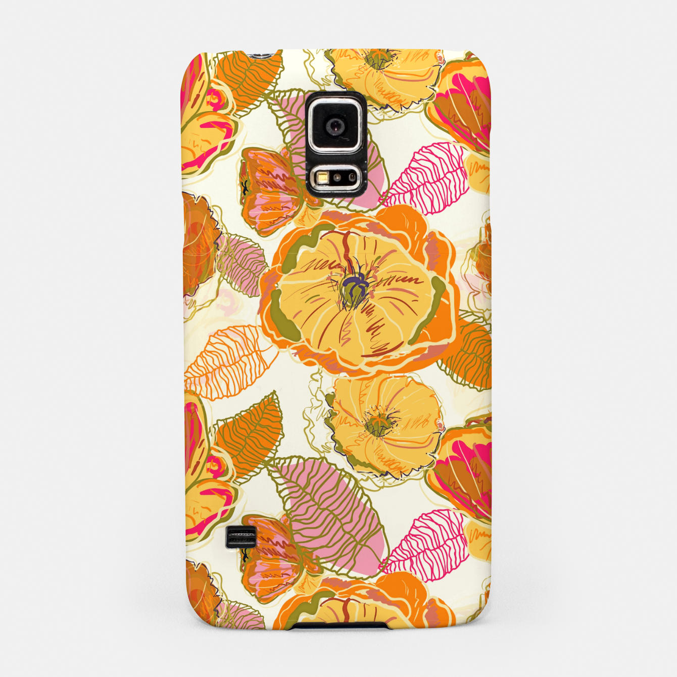 Image of Fall Floral Samsung Case - Live Heroes