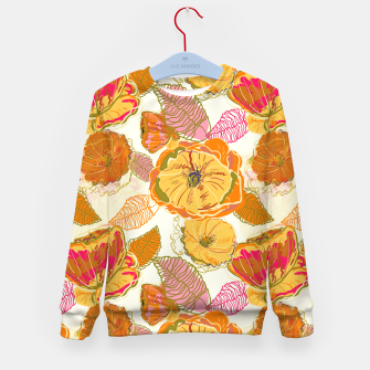 Thumbnail image of Fall Floral Kid's sweater, Live Heroes