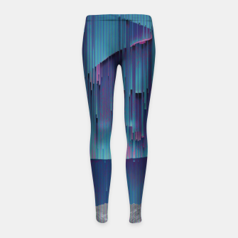 Thumbnail image of 065 Girl's leggings, Live Heroes