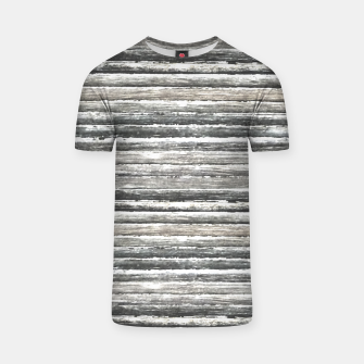Thumbnail image of Grunge Stripes Design Print T-shirt, Live Heroes