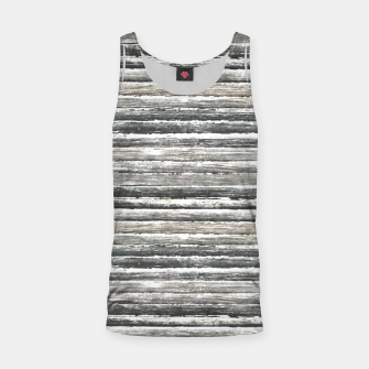 Thumbnail image of Grunge Stripes Design Print Tank Top, Live Heroes