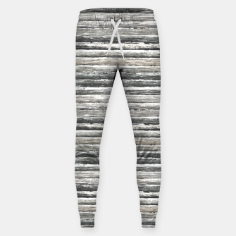 Thumbnail image of Grunge Stripes Design Print Sweatpants, Live Heroes