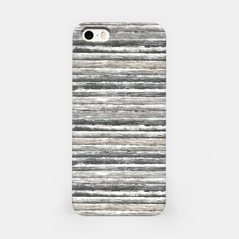 Miniatur Grunge Stripes Design Print iPhone Case, Live Heroes