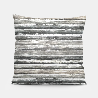 Miniatur Grunge Stripes Design Print Pillow, Live Heroes