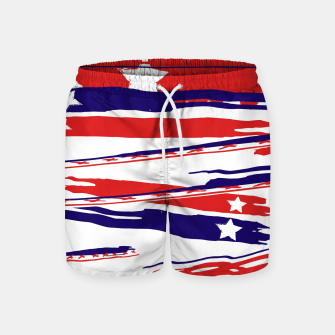 Thumbnail image of 4th of July Swim Shorts, Live Heroes