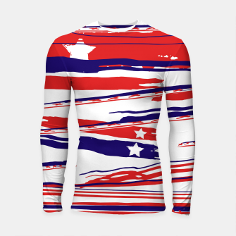 Thumbnail image of 4th of July Longsleeve rashguard , Live Heroes