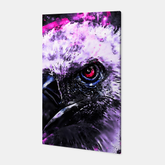 Thumbnail image of face of a vulture wsbl Canvas, Live Heroes