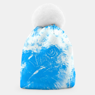 Thumbnail image of face of a vulture wswb Beanie, Live Heroes