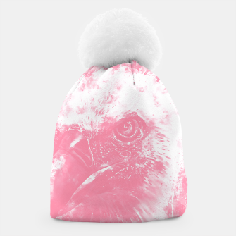 Thumbnail image of face of a vulture wspw Beanie, Live Heroes