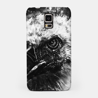 Thumbnail image of face of a vulture wsbw Samsung Case, Live Heroes