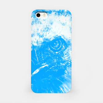 Miniature de image de face of a vulture wswb iPhone Case, Live Heroes
