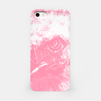 Miniature de image de face of a vulture wspw iPhone Case, Live Heroes