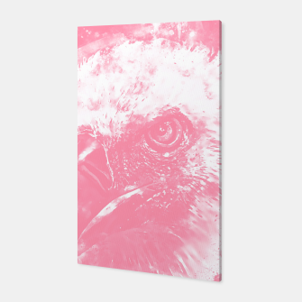 Thumbnail image of face of a vulture wspw Canvas, Live Heroes