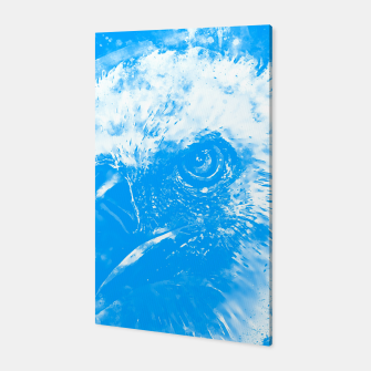 Thumbnail image of face of a vulture wswb Canvas, Live Heroes