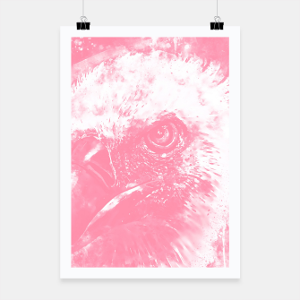 Thumbnail image of face of a vulture wspw Poster, Live Heroes