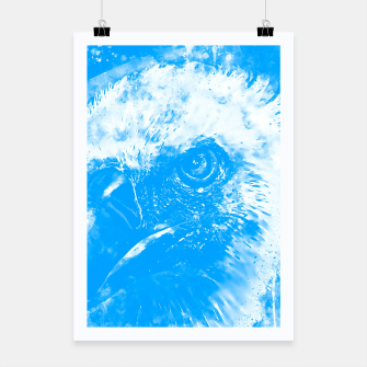 Thumbnail image of face of a vulture wswb Poster, Live Heroes