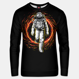 Thumbnail image of Space Exit Unisex sweater, Live Heroes