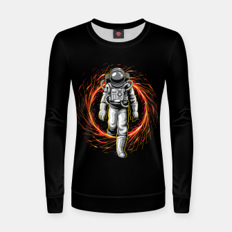 Thumbnail image of Space Exit Women sweater, Live Heroes