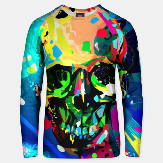 Thumbnail image of Abstract Skull Unisex sweater, Live Heroes