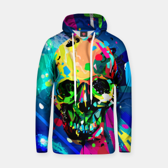 Thumbnail image of Abstract Skull Hoodie, Live Heroes