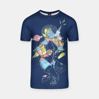 Thumbnail image of Space Zombie T-shirt, Live Heroes