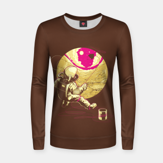 Thumbnail image of Space Kite Women sweater, Live Heroes