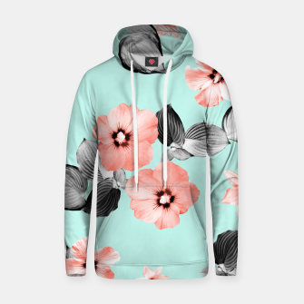 Thumbnail image of Living Coral Floral Dream #3 #flower #pattern #decor #art Kapuzenpullover, Live Heroes