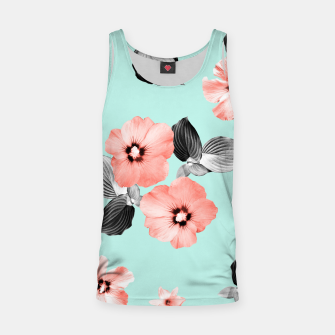 Miniature de image de Living Coral Floral Dream #3 #flower #pattern #decor #art Muskelshirt , Live Heroes