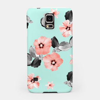 Thumbnail image of Living Coral Floral Dream #3 #flower #pattern #decor #art Handyhülle für Samsung, Live Heroes