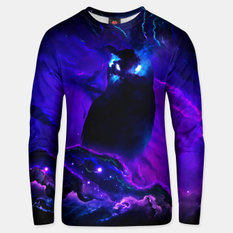 Thumbnail image of Space Owl Unisex sweater, Live Heroes