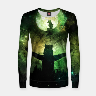 Thumbnail image of Moon Lover Women sweater, Live Heroes