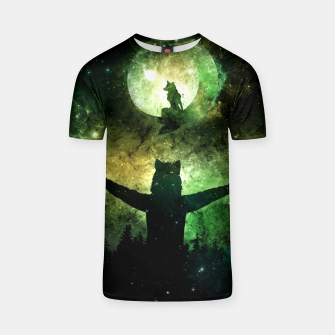 Thumbnail image of Moon Lover T-shirt, Live Heroes